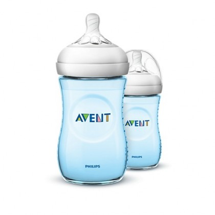 Philips Avent Natural 2.0 9oz Feeding Bottle TWIN PACK