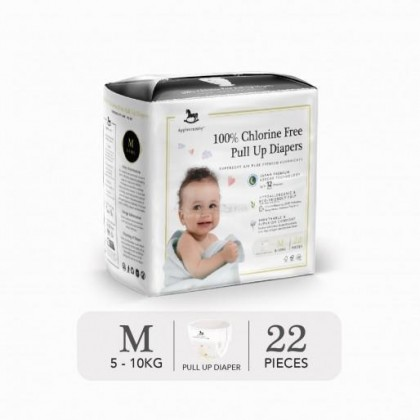 Applecrumby Chlorine Free Diapers Tape / Pull up Pants - Size S / M / L / XL