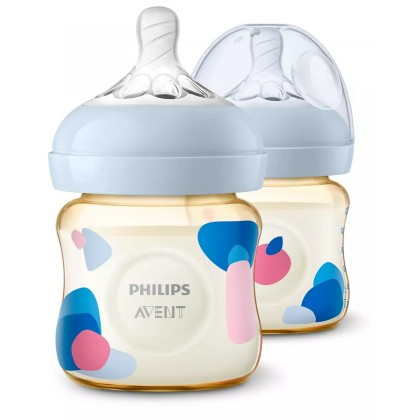 Philips Avent Natural PPSU Bottle 125ML Twin Pack