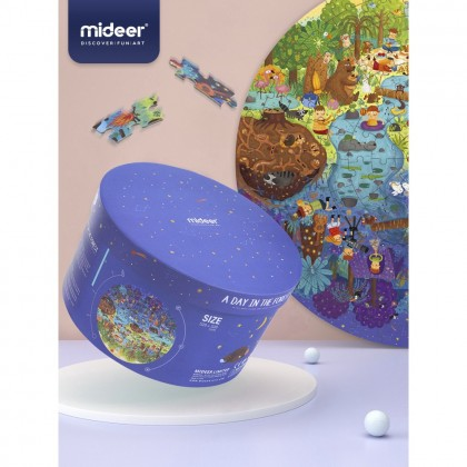 MIDEER A Day in the Forest (150pc Puzzle)