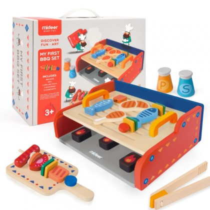 MIDEER My First BBQ Set (Educational Toys for Kids)