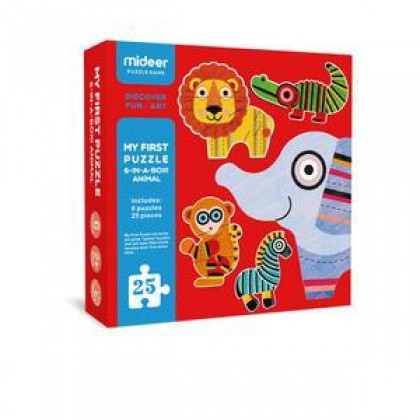MIDEER My First Puzzle - Animal (Educational Toys for Kids)