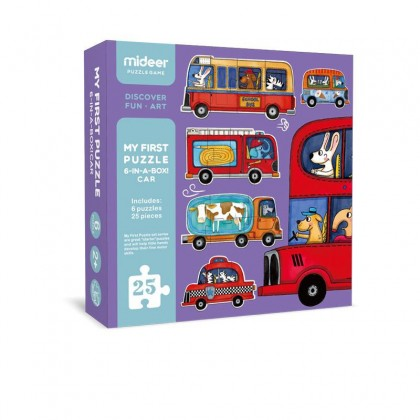 MIDEER My First Puzzle - Traffic (Educational Toys for Kids)